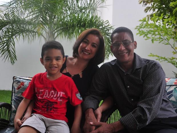 Joide Miranda é casado e tem um filho (Foto: André Souza/ G1)