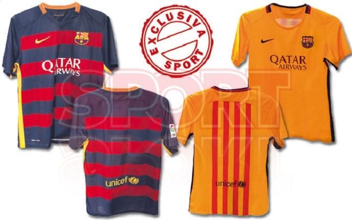 Novo uniforme Barcelona (Foto: Reprodução/Sport.es)
