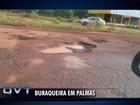 Motociclista morre após cair em buraco de rua em Palmas