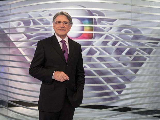 Sérgio Chapelin (Foto: Rede Globo / Pedro Curi)
