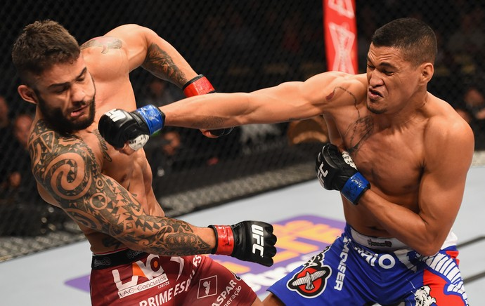 Rick Monstro x Ildemar Marajo, UFC 183 (Foto: Getty Images)