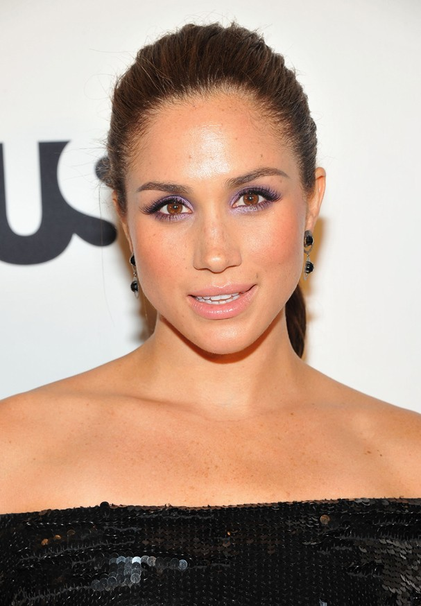 "NEW YORK, NY - JUNE 12:  Meghan Markle  of Suits attends USA Network and Mr Porter.com Present ""A Suits Story"" on June 12, 2012 in New York, United States.  (Photo by Theo Wargo/Getty Images for NBCUniversal/USA Network) (Foto: Getty Images for NBCUniversal/US)"