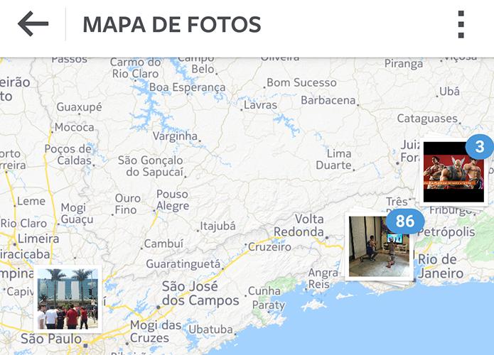 Instagram deixa o Mapa de Fotos desativado por padrão (Foto: Reprodução/Paulo Alves)