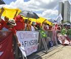 40 mil foram à posse de Dilma, segundo a PM (Alice Vergueiro/Futura Press/Estadão Conteúdo)