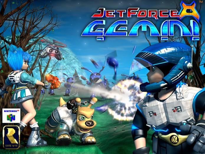 Jet Force Gemini foi criado pela Rare (Foto: Divulgação/Rare)