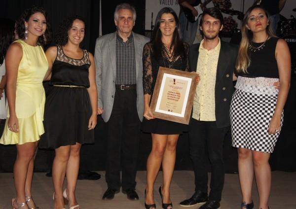 A Antares Comunicação foi homenageada como a agência mais premiada na história do Criatividade (Foto: Daniel Sousa/ TV Cabo Branco)