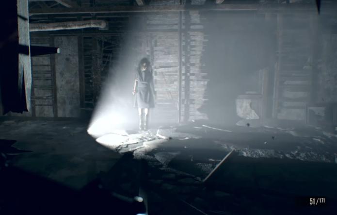 Como vencer as duas formas Eveline, chefe de Resident Evil 7 (Foto: Reprodução/Felipe Vinha)