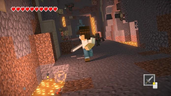 Minecraft Story Mode - Season 2 - Eps. 1 (Foto: Reprodução/Rafael Monteiro)