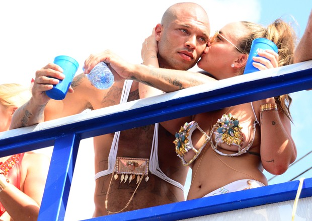 Jeremy Meeks e Chloe Green (Foto: The Grosby Group)