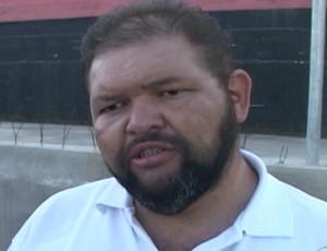 Presidente do Atlético de Cajazeiras Júnior Quirino (Foto: Reprodução / TV Paraíba)
