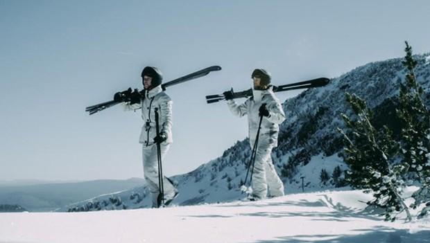 Nova linha de ski da Moncler (Foto: Divulgação)