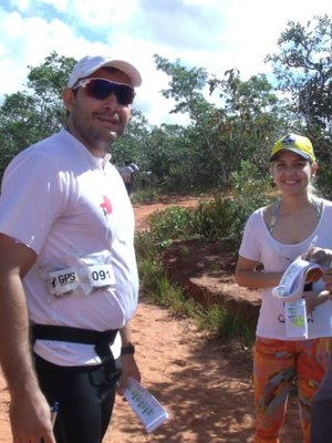 Carlos Silva (à esquerda) e sua equipe Trilhando Caminhos. (Foto: Arquivo Pessoal)
