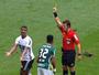 Autor do gol do Coritiba, Iago leva terceiro amarelo e está suspenso