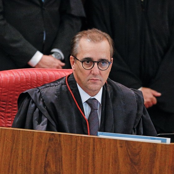 O ministro do TSE Admar Gonzaga (Foto: Sérgio Lima/ Época)