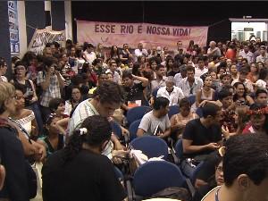 Audiência contou com participação da população, lideranças indígenas e outras autoridades (Foto: Reprodução/TV Tapajós)