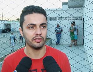 Arthur, técnico do Sport Campina (Foto: Reprodução /TV Paraíba)