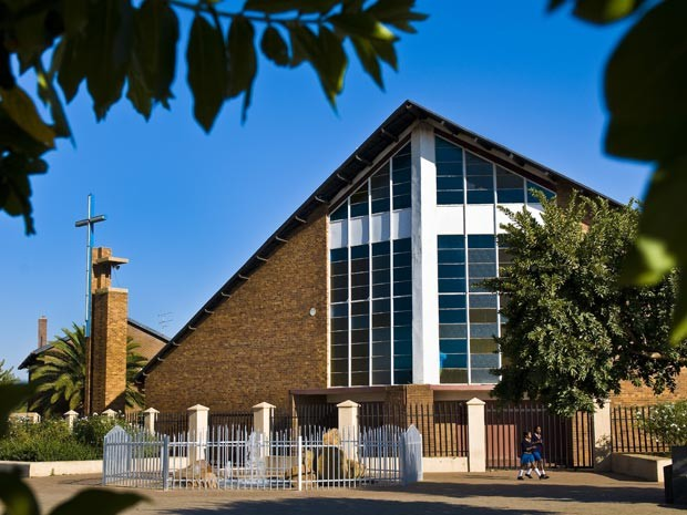 Foto de arquivo da Igreja Regina Mundi, em Soweto (Foto: Emilie Chaix / Photononstop / AFP)