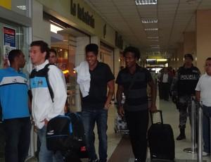 grêmio embarque quito porto alegre ldu libertadores (Foto: Hector Werlang/Globoesporte.com)