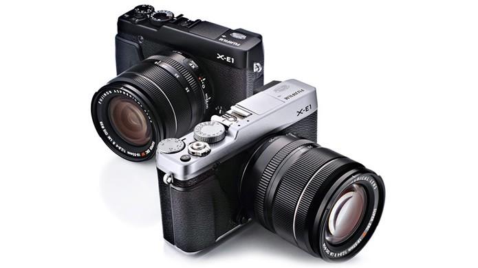 Com resolução de 16.3 megapixels, a Fujifilm X-E1 é uma câmera profissional bastante confiável (Foto: Divulgação/Fujifilm)