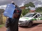 Famílias de região do Pará atingida por vazamento recebem água potável