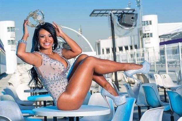 Cinthia Santos (Foto: Fabio Tieri/R2assessoria)