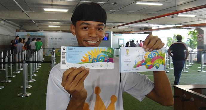 Ingressos Copa Recife (Foto: Thiago Augustto)