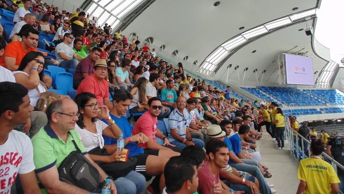 Treinamento voluntários Copa Natal (Foto: Klênyo Galvão)