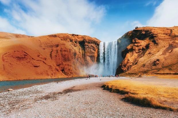 Skógafoss, na Islândia, será palco do festival do The xx (Foto: Divulgação)
