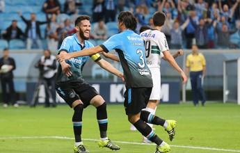 Grêmio domina, volta a bater Coritiba e avança às quartas da Copa do Brasil