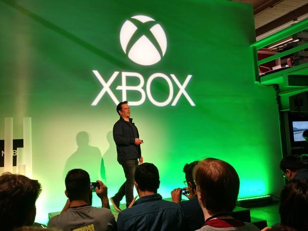 'Sabemos que temos muito a provar no ambiente de jogos para PC', diz Phil Spencer, chefe da divisão Xbox (Foto: Bruno Araujo/G1)