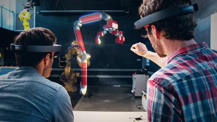 Será possível fazer screenshots e vídeos curtos de hologramas do HoloLens (Foto: Divulgação/Microsoft)