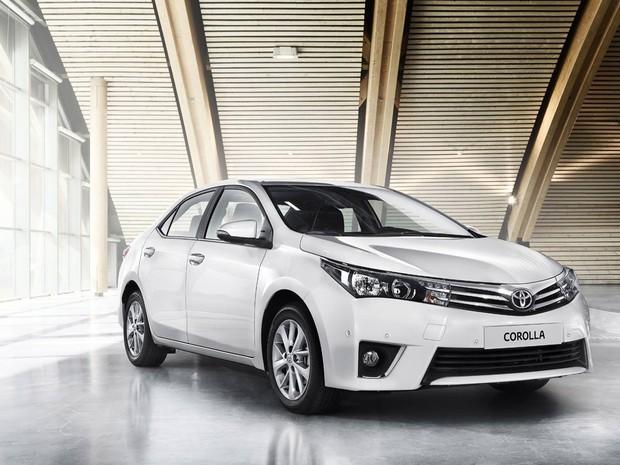 Toyota Corolla europa 2014 (Foto: Divulgação)
