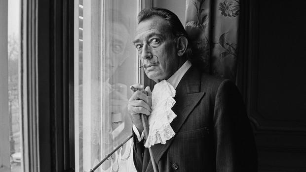Discretamente, Salvador Dalí desenhou Freud em 1938 (Foto: Getty Images)