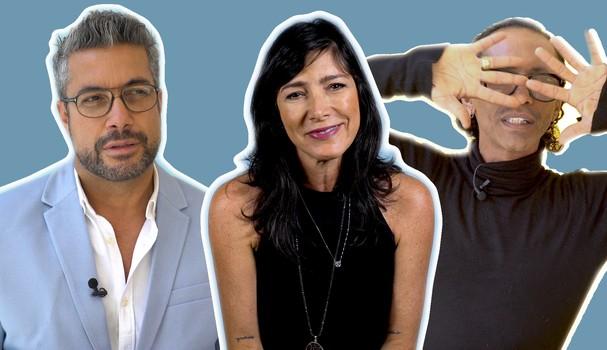Fernando Torquatto, Andrea Bisker e Max Weber falam sobre o futuro da beleza (Foto: Reprodução)