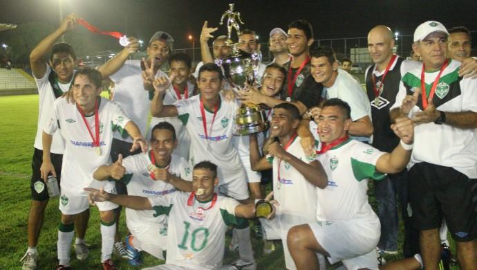 Manaus FC (Foto: Isabella Pina)