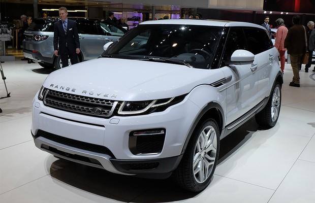 Land Rover Range Rover Evoque no Salão de Genebra 2015 (Foto: Autoesporte)