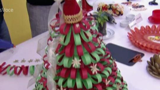 Ana Maria Braga dá dicas de decoração natalina com baixo custo
