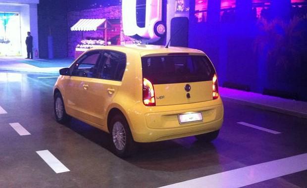 Volkswagen up! é oficialmente lançado (Foto: Giulia Lanzuolo)
