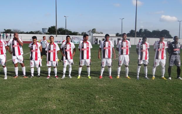 Equipe do Santa Rita-RN (Foto: Leonardo Freire/GLOBOESPORTE.COM)