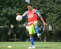 Román se reapresenta, e Palmeiras fica com sistema defensivo completo