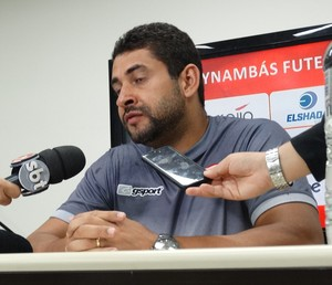 Ludyo Santos Tupynambás treinador (Foto: Bruno Ribeiro)