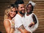 Bruno Gagliasso parabeniza Giovanna Ewbank e Titi pelo Dia da Mulher