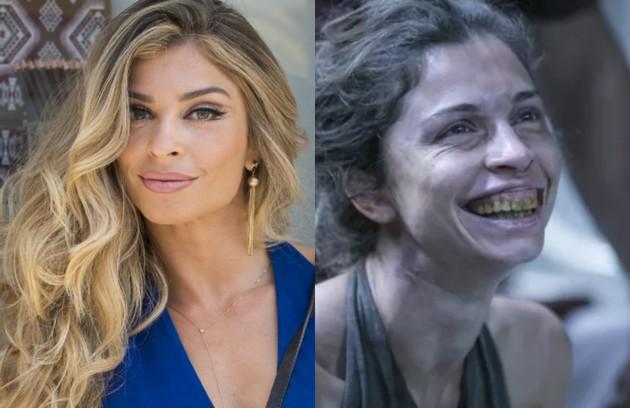 Grazi Massafera perdeu mais de 3kg para viver a viciada em drogas Larissa, de 'Verdades secretas'. Além disso, usou uma prótese dentária (Foto: TV Globo)