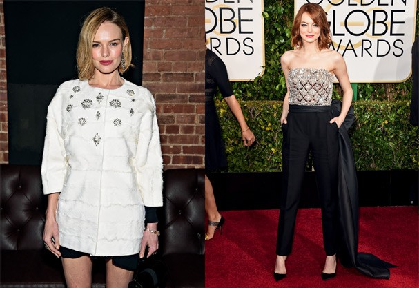 Kate Bosworth e Emma Stone (Foto: Getty Images)
