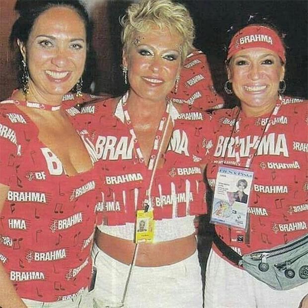 Eliane Giardin, Ana Maria Braga e Susana Vieira (Foto: Reprodução/Instagram)
