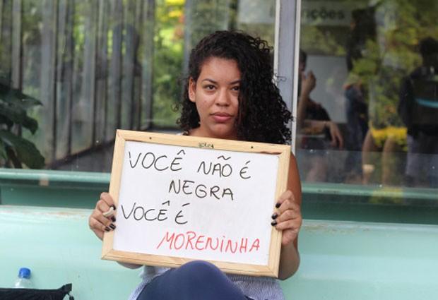 Daniella Leite foi uma das dezenas de participantes do projeto idealizado por Lorena Monique dos Santos (Foto: Divulgação/Lorena Monique dos Santos)