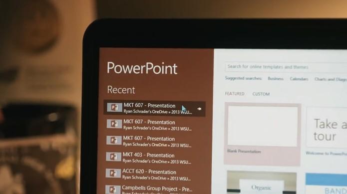 Microsoft adiciona novas funcionalidades aos programas do Office Online (Foto: Divulgação/Microsoft)