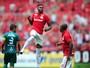 Em alta, Vitinho busca gol no 6º jogo seguido para igualar feito de Damião