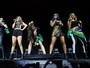 Fifth Harmony se apresenta em São Paulo com bandeiras do Brasil