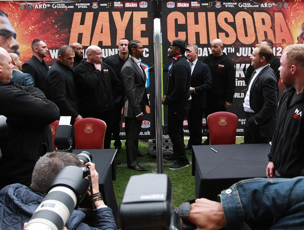 boxe david haye e dereck chisora (Foto: Ag&#234;ncia Getty Images)